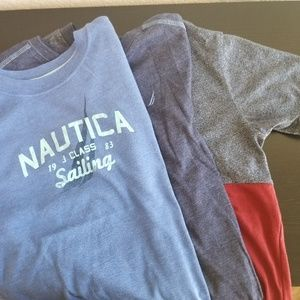Nautica and cat & jack lot of t-shirts